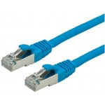 LATIGUILLO AZUL S/FTP CAT6 FLEXIBLE LSZH 2M