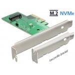 TARJETA PCI EXPRESS SSD M.2 NVMe +LOW PROFILE