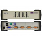 KVM SWITCH SOBREMESA 4 X 1 MIXTA PS/2 - USB
