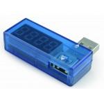 ADAPTADOR USB TIPO A MACHO - HEMBRA + POWERMETER