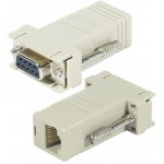 ADAPTADOR CONFIGURABLE DB9H-RJ45H