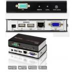 KVM EXTENDER VGA + USB  150Mts RJ45  (CE700A)