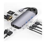 DOCK USB-C 3.1 (M) - MULTIPUERTO 10 EN 1