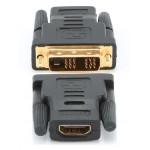 ADAPTADOR DVI-D 18 + 1 MACHO - HDMI TIPO A HEMBRA