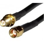 CABLE COAXIAL LMR195 CONECTORES RP SMA M-H 2Mts