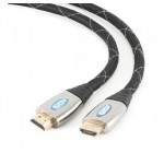 CABLE HDMI HQ FULL HD 3D v1.4  TIPO A  M-M  2Mts
