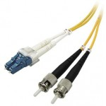 CABLE FIBRA DUPLEX MONOMODO 9 / 125 LC-ST 2Mts OS2
