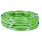 BOBINA 100Mts CABLE F/UTP FLEX. CAT-6A LSZH VERDE
