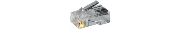 Conectores RJ45 - RJ11 - RJ9 .