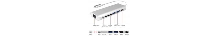Bases Multipuerto USB-C