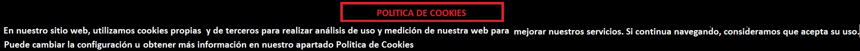 POLITICA DE COOKIES